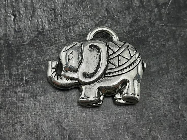 Подвеска из биж сплава слоник 30*35мм
