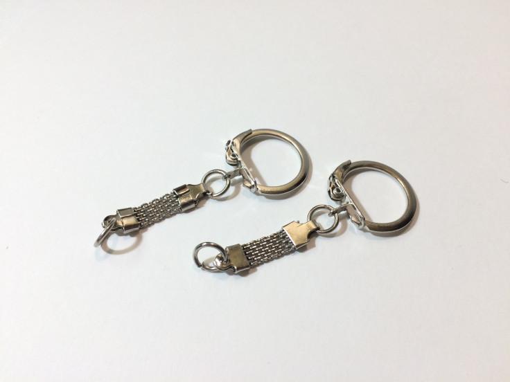 Кольцо для брелков и ключей упаковка 5шт